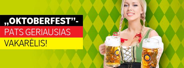 Specialios kainos vykstant į Oktoberfest šventę Vokietijoje