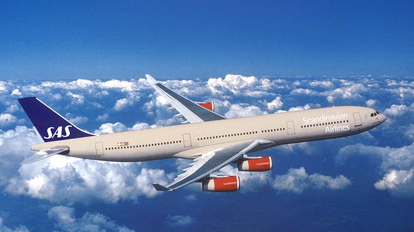 Scandinavian Airlines bilietų išpardavimas į JAV