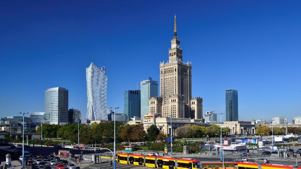 Lėktuvų bilietai į Varšuvą